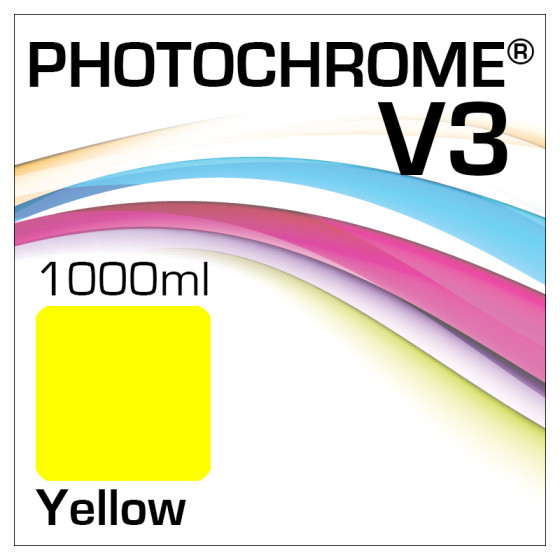 Photochrome V3 Tinte Flasche 1000ml Yellow