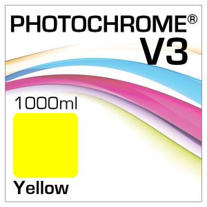 Photochrome V3 Tinte Flasche 1000ml Yellow