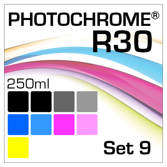Lyson Photochrome R30 9-Flaschen Set 250ml