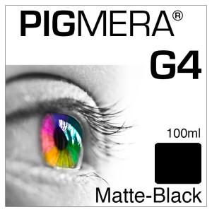 farbenwerk Pigmera G4 Flasche Matte-Black 100ml
