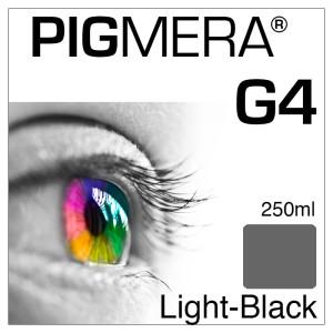 farbenwerk Pigmera G4 Flasche Light-Black 250ml