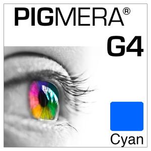 farbenwerk Pigmera G4 Flasche Cyan