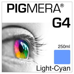 farbenwerk Pigmera G4 Flasche Light-Cyan 250ml