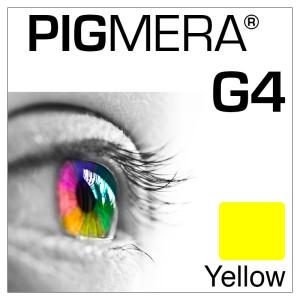 farbenwerk Pigmera G4 Flasche Yellow