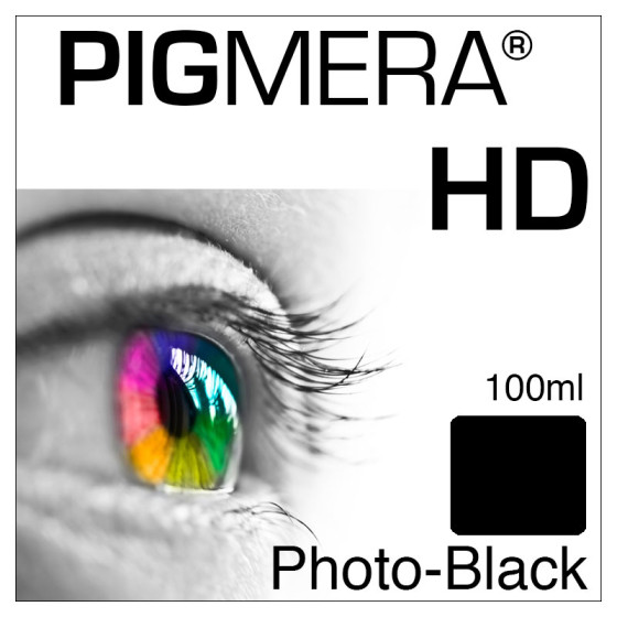 farbenwerk Pigmera HD Flasche Photo-Black 100ml