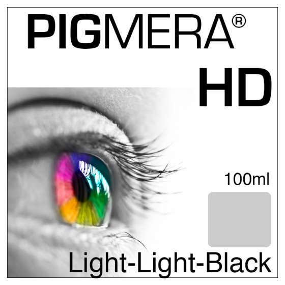 farbenwerk Pigmera HD Flasche Light-Light-Black 100ml
