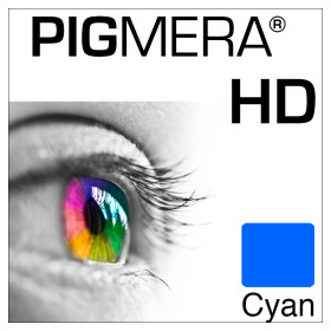 farbenwerk Pigmera HD Flasche Cyan