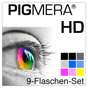 farbenwerk Pigmera HD 9-Flaschen-Set