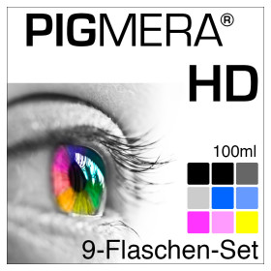 farbenwerk Pigmera HD 9-Bottle-Set 100ml