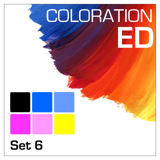 Coloration ED 6-Flaschen Set 100ml
