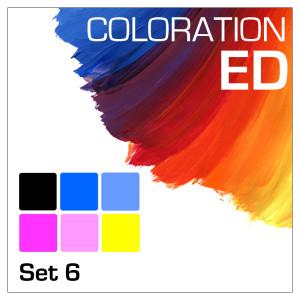Coloration ED 6-Bottle Set 100ml