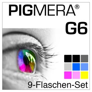 farbenwerk Pigmera G6 9-Flaschen-Set