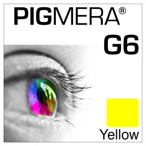 farbenwerk Pigmera G6 Flasche Yellow