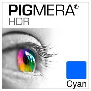 farbenwerk Pigmera HDR Flasche Cyan