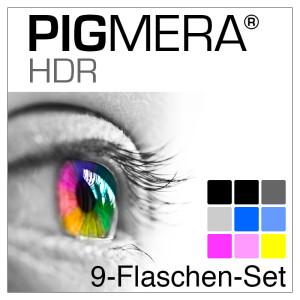 farbenwerk Pigmera HDR 9-Flaschen-Set