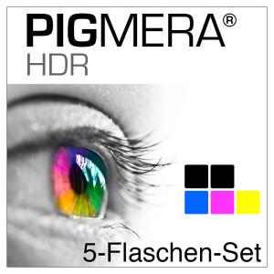 farbenwerk Pigmera HDR 5-Flaschen-Set