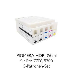 Kompatibles Tintenpatronen-Set für Pro 7700, 9700...
