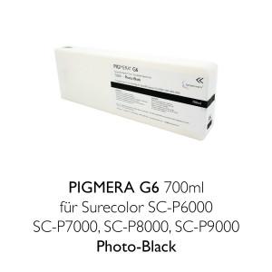 farbenwerk Pigmera G6 ink cartridge 700ml T8041 Photo-Black