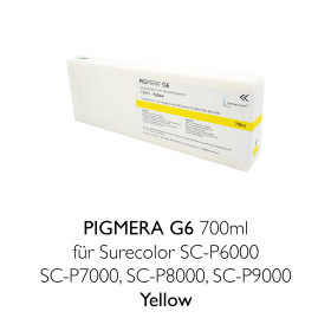 farbenwerk Pigmera G6 ink cartridge 700ml T8044 Yellow