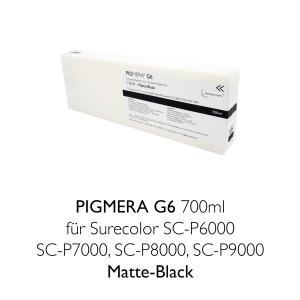 farbenwerk Pigmera G6 ink cartridge 700ml T8048 Matte-Black
