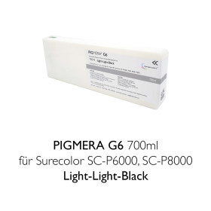 Kompatible Tintenpatrone Pigmera G6 700ml T8049...
