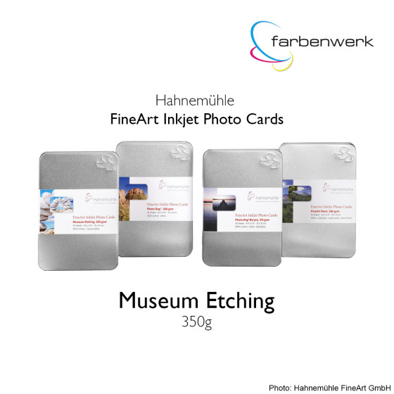 Hahnemühle Photo Cards Museum Etching 30 Blatt 10x15cm