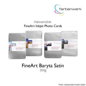 Hahnemühle Photo Cards FineArt Baryta Satin 30...