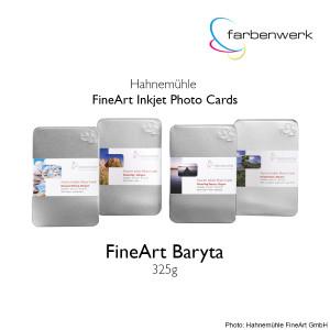 Hahnemühle Photo Cards FineArt Baryta 30 Blatt 10x15cm