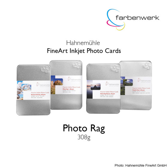 Hahnemühle Photo Cards Photo Rag 30 Blatt DinA5