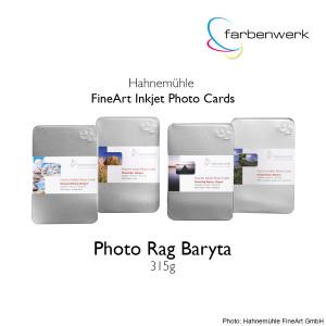 Hahnemühle Photo Cards Photo Rag Baryta 30 Blatt DinA5
