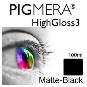 farbenwerk Pigmera HG3 Flasche 100ml Matte-Black