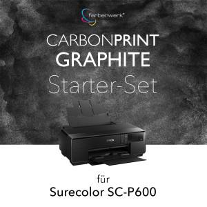 Starter-Set Carbonprint Graphite für SC-P600