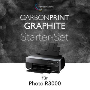 Starter-Set Carbonprint Graphite für Photo R3000