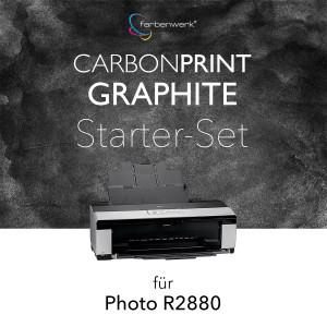Starter-Set Carbonprint Graphite für Photo R2880