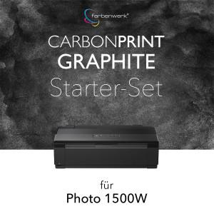 Starter-Set Carbonprint Graphite für Photo 1500W