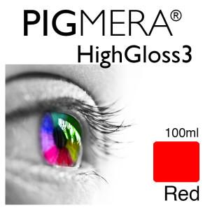 farbenwerk Pigmera HG3 Bottle 100ml Red