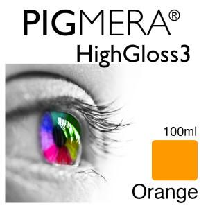 farbenwerk Pigmera HG3 Flasche 100ml Orange