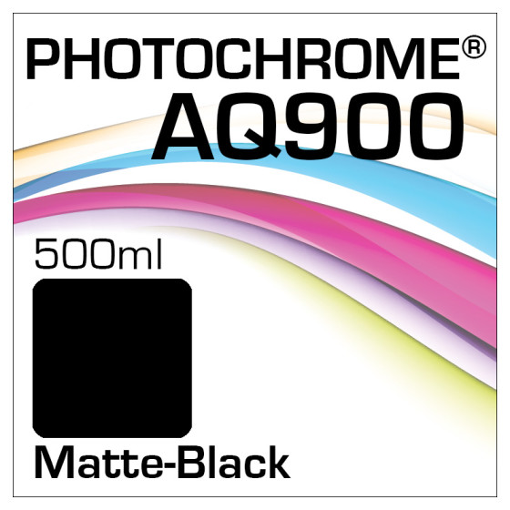 Photochrome AQ900 Tinte Flasche 500ml Matte-Black