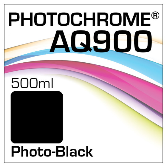 Photochrome AQ900 Tinte Flasche 500ml Photo-Black