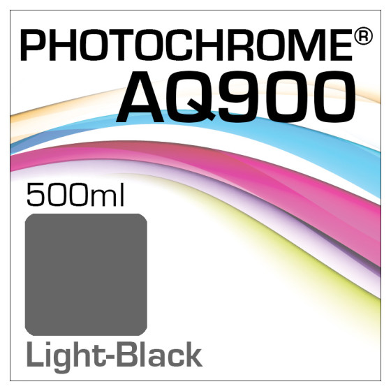 Photochrome AQ900 Tinte Flasche 500ml Light-Black