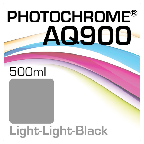 Photochrome AQ900 Tinte Flasche 500ml Light-Light-Black