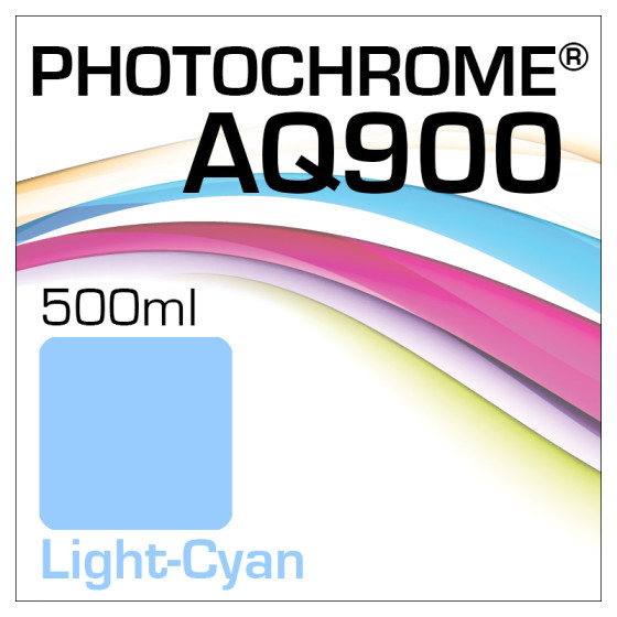 Photochrome AQ900 Tinte Flasche 500ml Light-Cyan