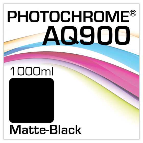 Photochrome AQ900 Tinte Flasche 1000ml Matte-Black