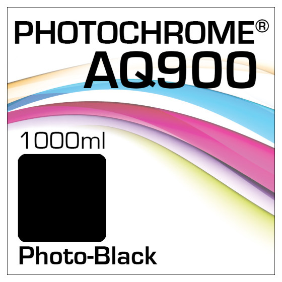 Photochrome AQ900 Tinte Flasche 1000ml Photo-Black