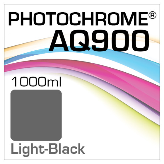 Photochrome AQ900 Tinte Flasche 1000ml Light-Black