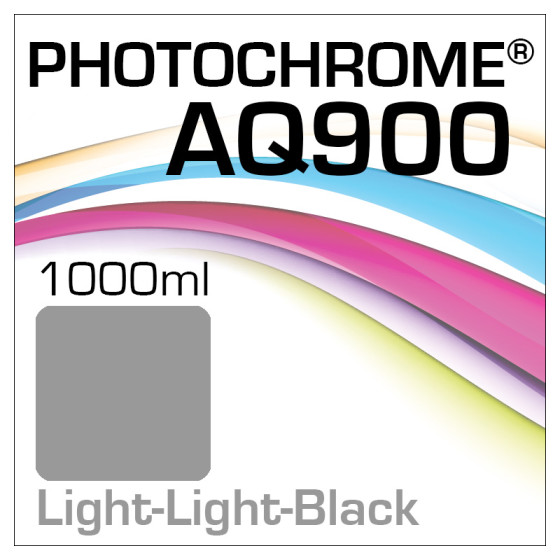 Photochrome AQ900 Tinte Flasche 1000ml Light-Light-Black