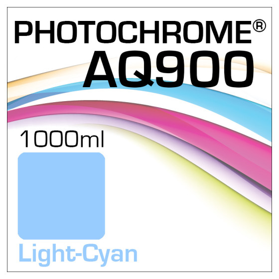 Photochrome AQ900 Tinte Flasche 1000ml Light-Cyan