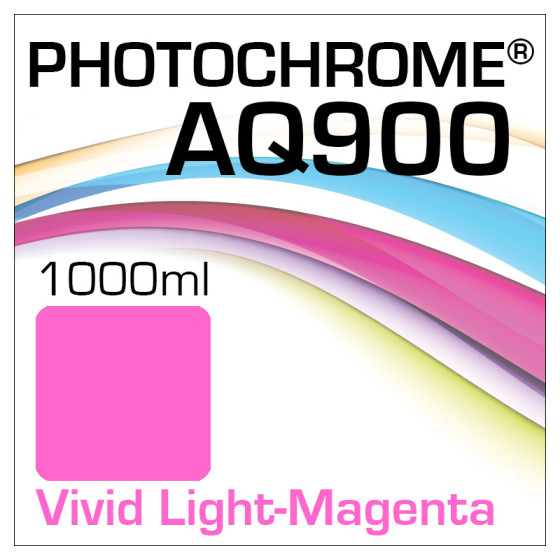 Photochrome AQ900 Tinte Flasche 1000ml Vivid Light-Magenta