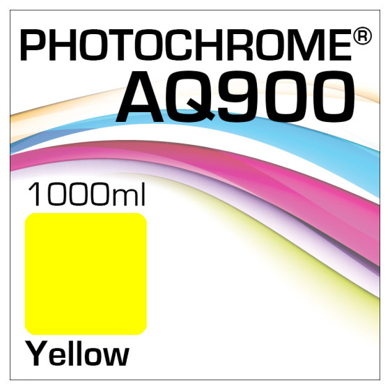 Photochrome AQ900 Tinte Flasche 1000ml Yellow