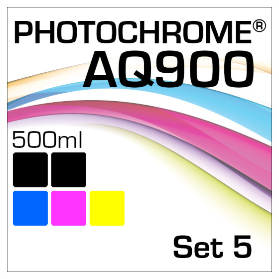 Photochrome AQ900 5-Flaschen Set 500ml